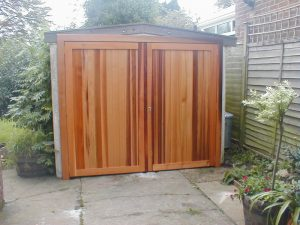Garage Side Hinged Doors Rottingdean