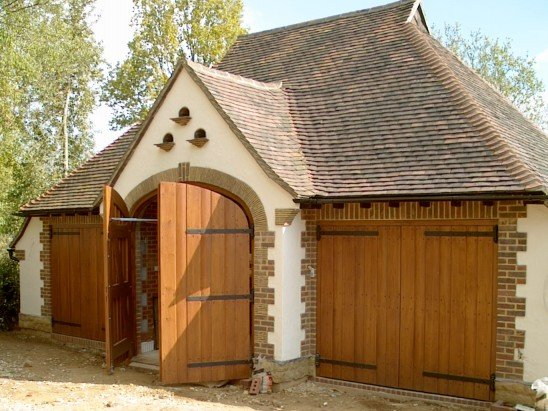 Custom Timber Garage Doors Lancing