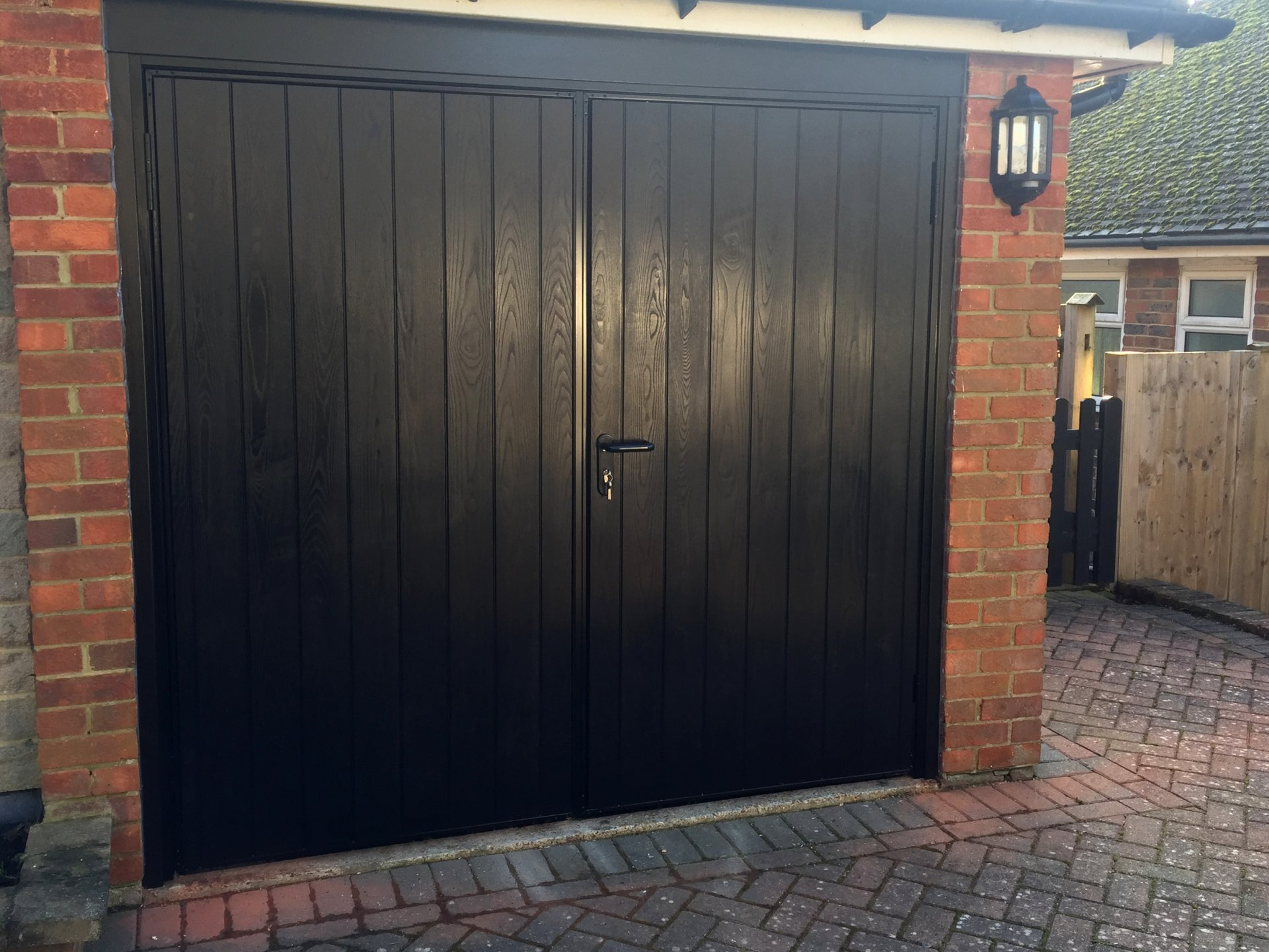 What Does Garage Mean: Woddingdean Side Hinged Garage Doors